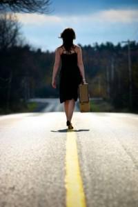 She left home, bye bye…
