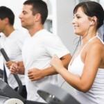 Running at Gym