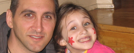 Jonathan Fields and Daughter