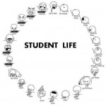 A Whimsical Depiction of Student Life