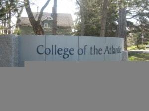 college tour, college of the atlantic, college
