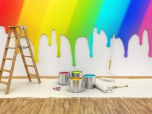 Paint Spring into Your Home
