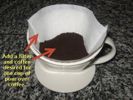 Pour Over Coffee Ceramic Cone With