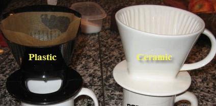 Pour Over Coffee Dripper Review – Plastic vs Ceramic