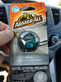 ArmorAll Car Air Freshener | A Review