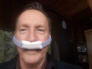 Moustache dressing