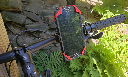 A Mongoora Bicycle Phone Holder is a Solid Bike Accessory