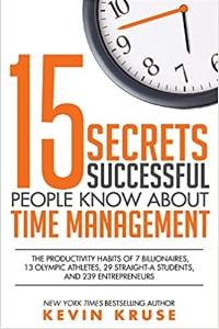 15 Secrets about Time Management